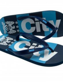 Manchester City F.C. Flip Flops - Junior