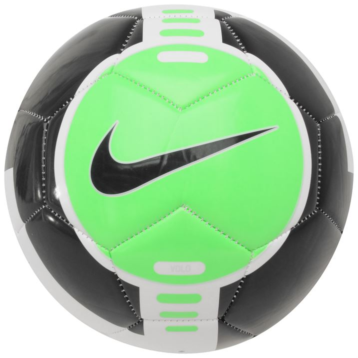 Nike CTR 360 Volo Football - White/Neo Lime