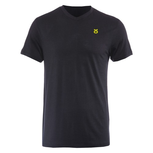 Tenacity V Neck - Black SugaFly Yellow