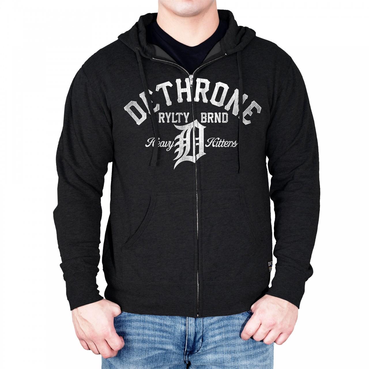 Dethrone Heavy Hitters hoodie - Charcoal