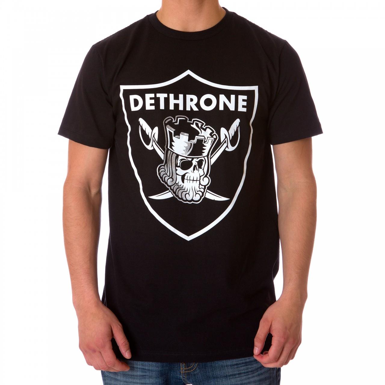 Dethrone Nation tee - Black