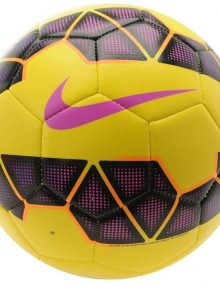 Nike Strike Premier League Hi Vis Football - Yellow/Purple/Pink