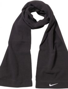 Nike Fleece Scarf - Black/White