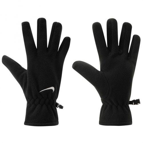 Nike Fleece Gloves Mens - Black/White