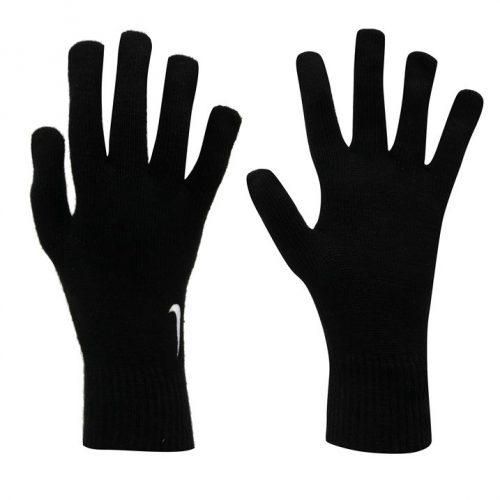 Nike Knitted Gloves Mens - Black/White