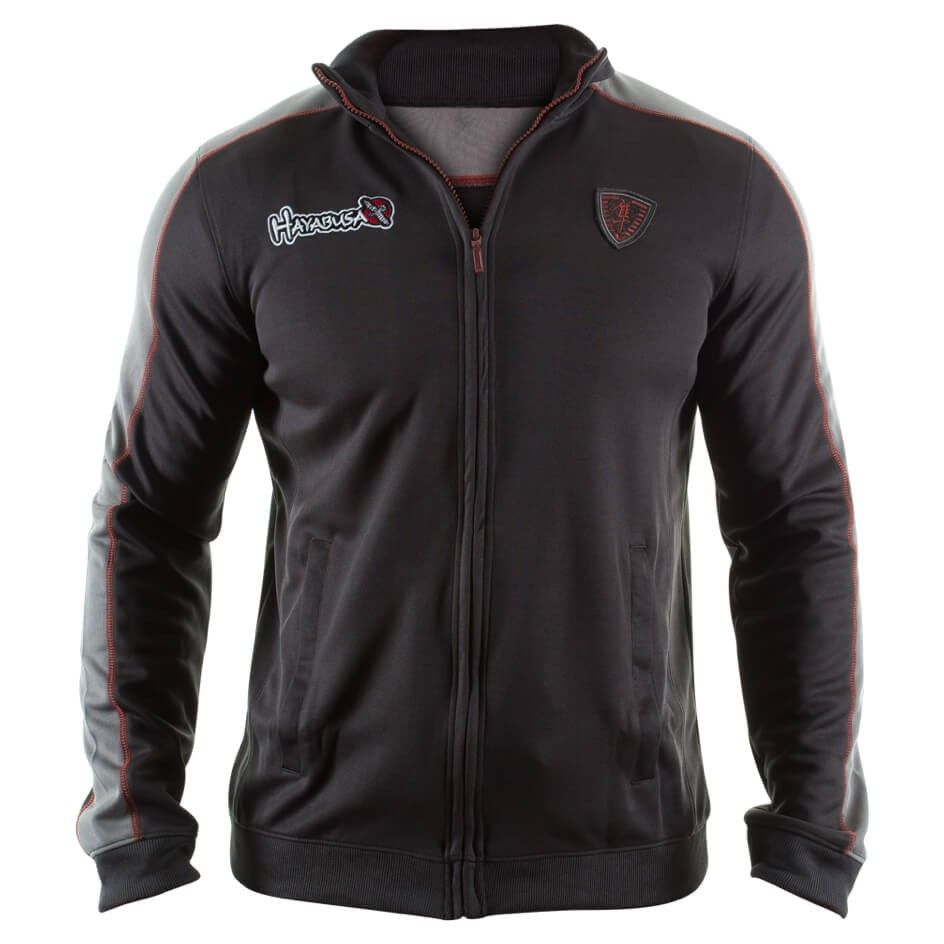 Hayabusa Track Jacket - Black/Grey
