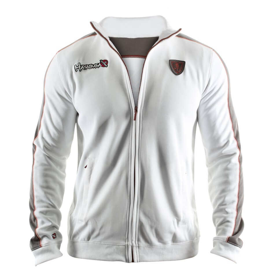 Hayabusa Track Jacket - White/Grey