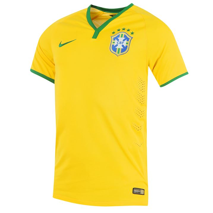 Nike Brazil Authentic Home Shirt 2014