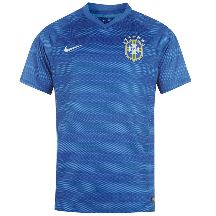 Nike Brazil Authentic Away Shirt 2014