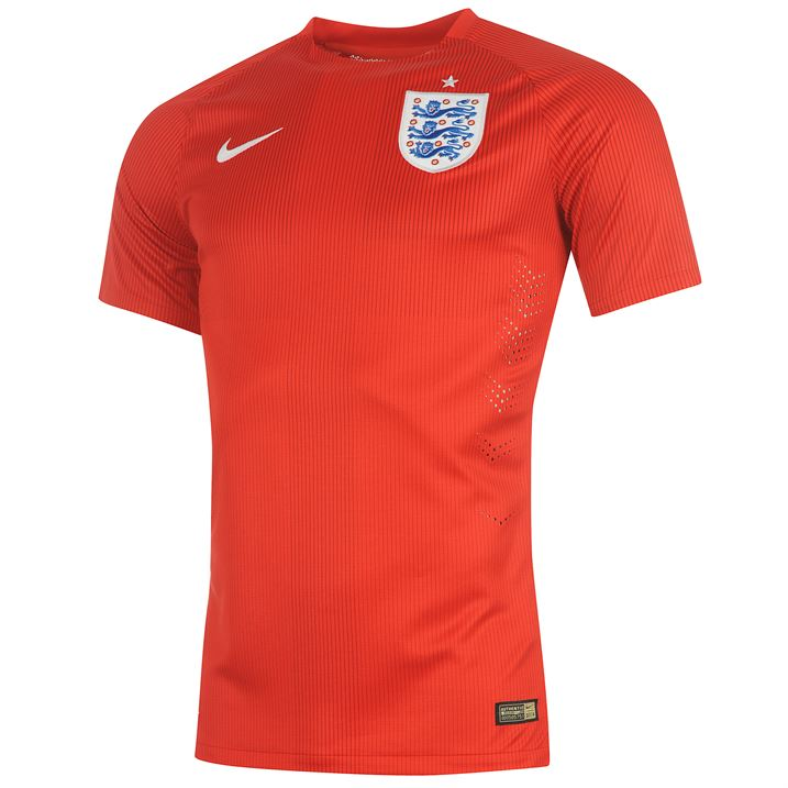 Nike England Authentic Away Shirt 2014
