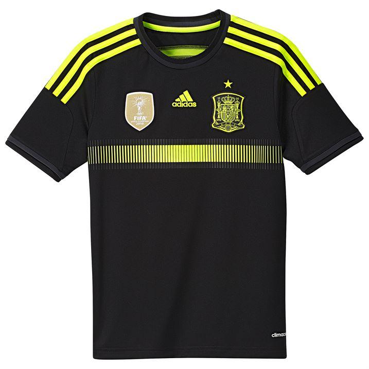 Adidas spain away shirt 2014 monster sports for Spain polo shirt 2014