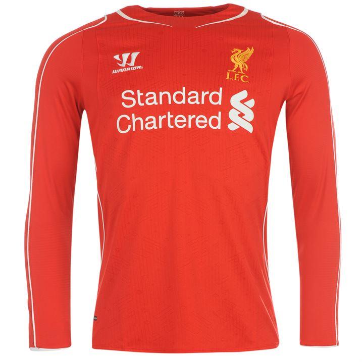 6a6778b75 Warrior Liverpool Home Shirt 2014 2015 Long Sleeve