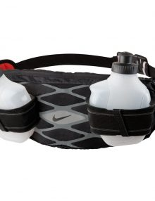 Nike Mens Storm 2 Bottle Waistpack - Black/Silver