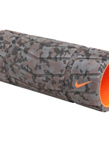 Nike Mens Texture Foam Roller - Grey/Black/Orange