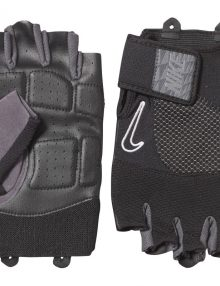 Nike Mens Lock Down Training Gloves - Grey/Black/White