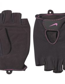 Nike Womens Fundamental Training Gloves II Black/Pink