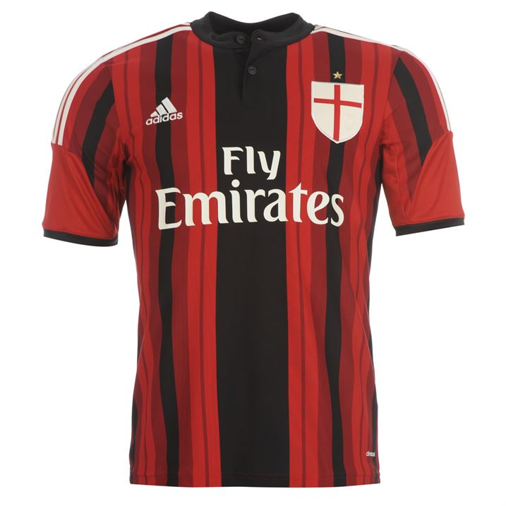 adidas AC Milan Home Shirt 2014 2015