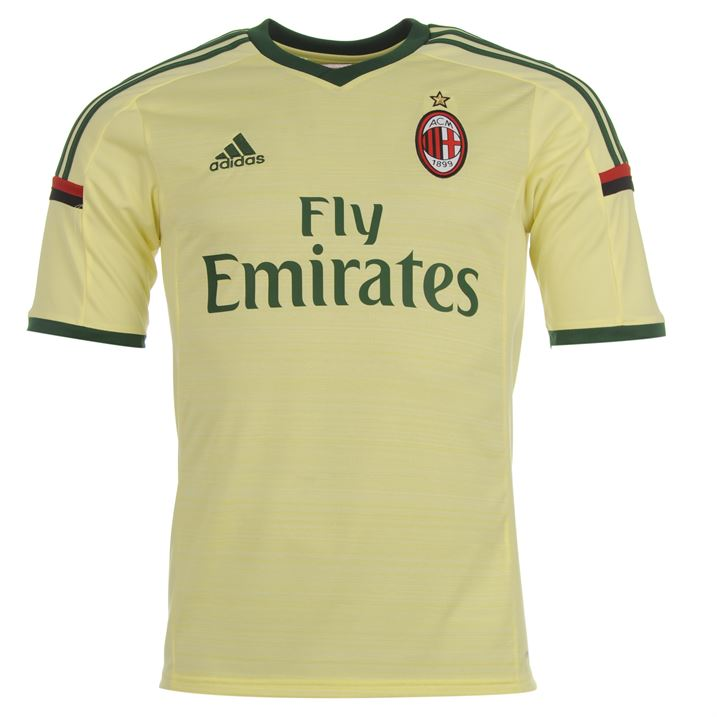 adidas AC Milan Third Shirt 2014 2015