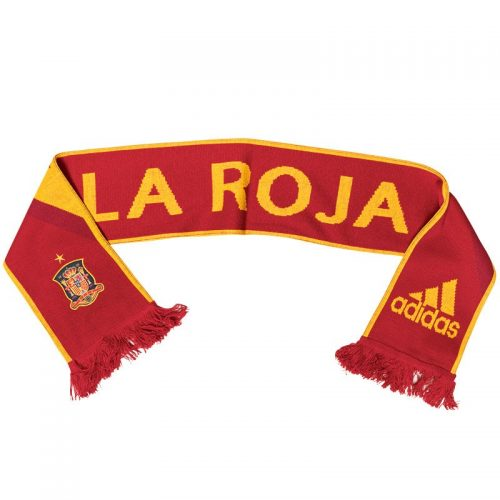 adidas FEF Spain Scarf - Red/Yellow