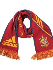 adidas FEF Spain Scarf - Red/Blue/Yellow
