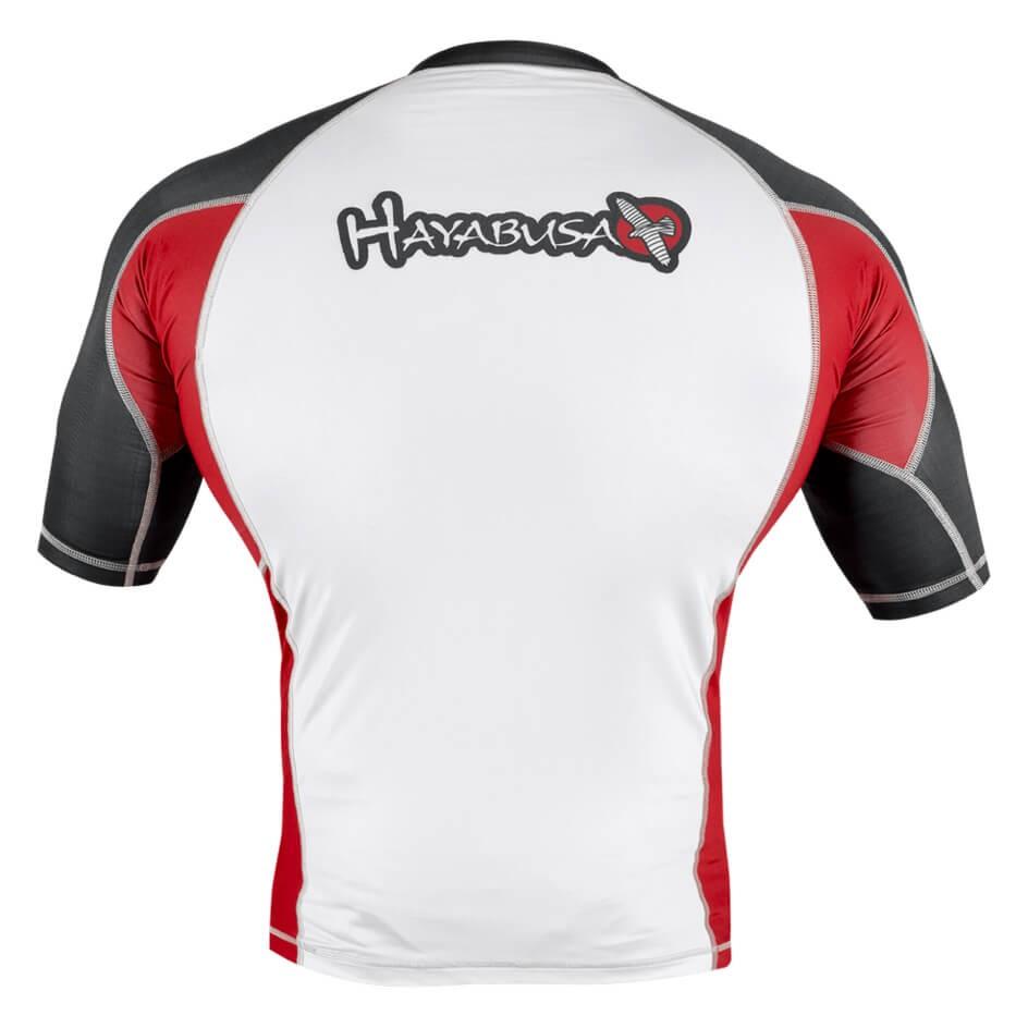 Hayabusa Elevate Rashguard Short Sleeve - White