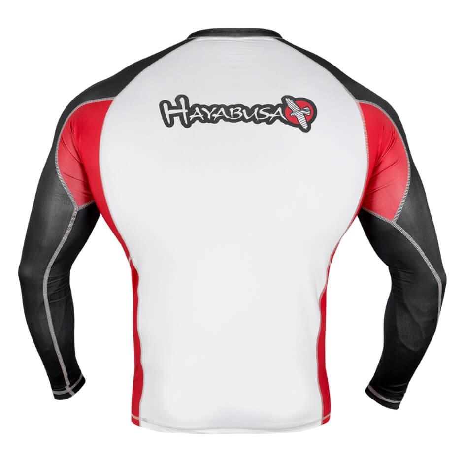 Hayabusa Elevate Rashguard Long Sleeve - White