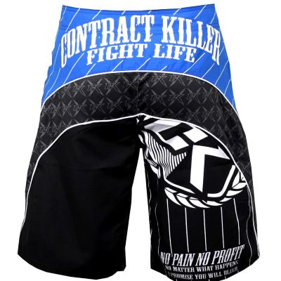 Contract Killer Circuit Fight Shorts Black/Blue