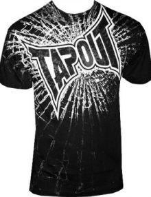 Tapout Break On Through T-Shirt Black