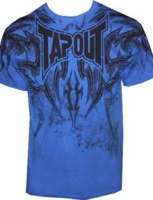 Tapout Corruption T Shirt - Royal Blue