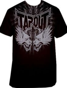 Tapout Wolfslair II Walkout T-Shirt - Black