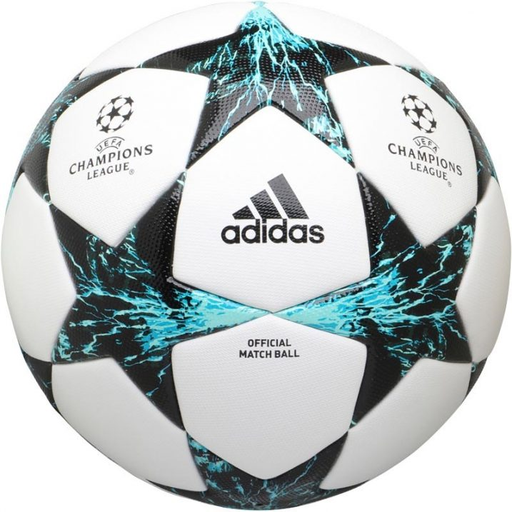 17bda9086 adidas Finale 17 Champions League Official Match Ball - White/Black ...