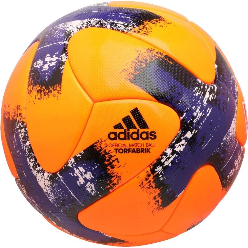 hot sale great quality dirt cheap adidas Torfabrik Winter Match Football - Orange/Purple/Black